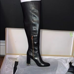 New knee high leather Sabrina boots size 41